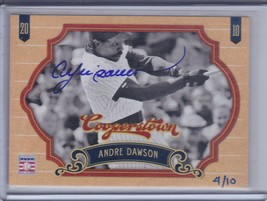 ANDRE DAWSON 2014 Panini Hall of Fame '12 Cooperstown Buyback Auto #4/10... - $35.96