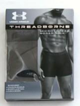 """Under Armour Threadborne Gray 6"""" Boxerjock Boxer Brief Underwear Men's NWT - $18.74"""