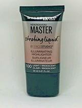 Maybelline Master Strobing Liquid Illuminating Highlighter 100 Light Iridescent - $9.89