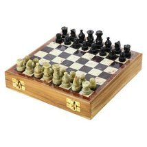 ShalinIndia Rajasthan Stone Art Unique Chess Se... - $20.85