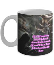 Reading Mug (11 oz) \ I don't want my favorite fictional... \Gift for Bo... - £10.45 GBP