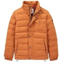 Timberland Men's NEW Mt Davis Waxed Down Jacket, Wheat. Size:M - $92.57