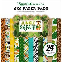 """Echo Park Jungle Safari 6x6"""" Paper Pad"""