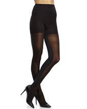 Assets Textured Sheer Contrast Tight Black - $24.99