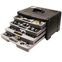105-Piece Tool Kit with 4 Drawer Tool Chest Worker Home Repair Hand Tool... - $79.51