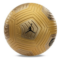 Nike PSG Strike Jordan Soccer Football Ball Gold CQ8042-750 Size 4, 5 - $46.99