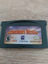 Nintendo Game Boy Advance GBA Disney's Chicken Little image 2