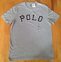 Polo Ralph Lauren Men's Short Sleeve Gray Varsity T-Shirt Size Small & XS   New - $28.99