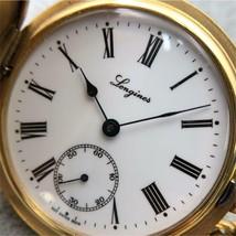 Longines pocket watch hand-winding 17 stone L507.2 GP 369 - $2,453.21