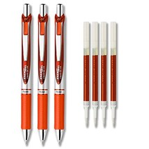 Pentel EnerGel Deluxe RTX Liquid Gel Ink Pen Set Kit, Pack of 3 with 4 R... - $12.40