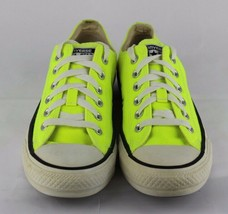 Converse all star unisex canvas neon low top sneakers size men's 5 women... - $19.90