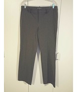 "EDDIE BAUER LADIES GRAY ""MERCER FIT"" PANTS-10-POLYESTER STRETCH-QUITE HE... - $8.39"