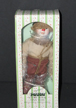 Seymour Mann Wizard of Oz Scarecrow Doll Hand Painted Porcelain NEW - $24.98