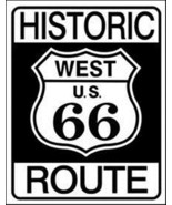 Historic Route 66 Classic Highway Sign Tin Sign Reproduction NEW UNUSED - $5.94