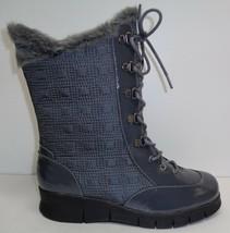 Aerosoles Size 6 M ENAMEL Grey Combo Winter Memory Foam Boots New Womens... - $117.81