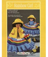 """Rainbow Girl 13"""" Music Box Doll Outfit FCM212 Crochet PATTERN/INSTRUCTIONS - $3.57"""