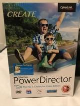 CyberLink PowerDirector Power Director Video Editor Software w/ Photo Di... - $14.85