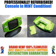 *NEW GLASS SCREEN* Nintendo Game Boy Advance GBA Kiwi Green System MINT NEW - $49.45