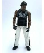 WWE Booker T Action Figure Black Shirt White Pants R3 Tech 2001 Jakks Pa... - $12.99