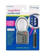 Travel Smart Magnifying Luggage Lock - Grey - $9.99