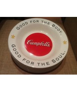 9 CAMPBELL SOUP BOWLS ARCOPAL FRANCE GOOD FOR THE BODY GOOD FOR THE SOUL... - $57.95