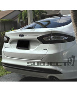 13-16 Fusion Tail light & reflectors tint cover vinyl overlay smoked w/C... - $21.77