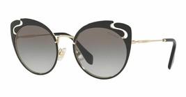 Nwt Miu Miu Noir Evolution Smu 57T Black/Grey Shaded (1AB-0A7) Sunglasses - $189.95