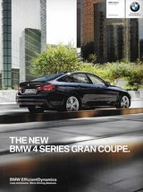 2015 BMW 4-SERIES Gran Coupe hatchback brochure catalog US 15 428i 435i ... - $10.00