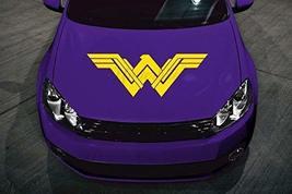 Wonder Woman Car Decal Hood Vinyl Decal Sticker WW Choose Color - $29.99