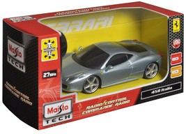 Car 1:24 Scale Ferrari 458 Italia Radio Control Vehicle Gifts For Kids H... - $20.06