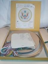 "New ""Old Stock"" Bucilla Creative Needlepoint Kit Seal of United States #2644 - $14.00"