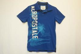 Aerpostale Graphic Polo Shirt, Men's XS 9045 - $12.42