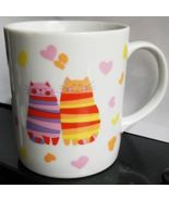 Love Kittens with hearts Coffee Mug Cup by the Tuscany Collection Made i... - $13.95