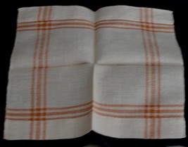 Nice Vintage Linen Napkin,  VG COND, SMALL SIZE, GREAT OLDER PIECE - $3.95