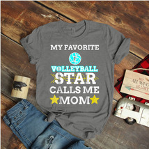 Volleyball Star Calls Me Mom Mother'S Day Ideas Birthday Gift Vintage Fu... - $15.99+