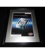2001 Winston Cigarettes Framed 11x14 ORIGINAL Advertisement - $32.36