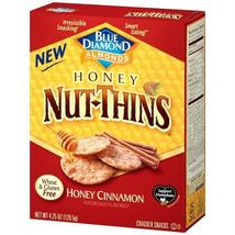 Blue Diamond Almonds Honey Nut-thins Honey Cinnamon (12x4.25 Oz) - $56.76