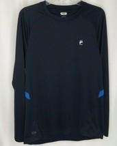 Fila Sport Navy Blue Athletic Bicycle Long Sleeve Shirt Mens M - $11.08