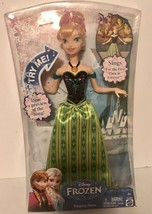 Disney Frozen Singing ANNA Doll NEW Anna Sings For The First Time In For... - $25.61