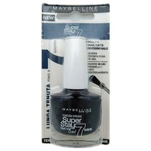 Maybelline Super Stay 7 Nail Lacquer 815 Carbon Grey 10 mL. - $6.64