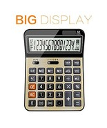 Calculators for office/Business/ Family Desktop Calculator with 14-digit... - $15.09