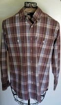 Tommy Hilfiger Brand ~ Mens Size Small/P ~ Plaid ~ Button Up Shirt ~ 100... - $24.00