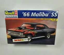 Revell Monogram 66 Malibu SS Hot Rod Model Car Kit 1996 Chevrolet Vintag... - $120.00