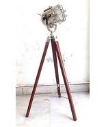 Handmade E 27 Chrome Spotlight Studio Floor Lamp With Stand Maritime Sea... - $61.85