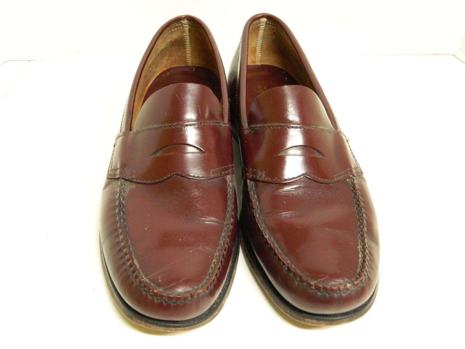 ec365bd1426 ... Vintage LL Bean Men s Classic Penny Loafers Size 11D Cordovan Made in  ...