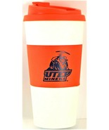 NCAA UTEP Miners Travel Mug Cup 16oz Reusable Tailgate Party New Free Sh... - $10.88