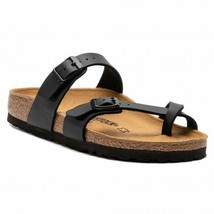 Birkenstock Women Mayari Black Comfort Casual Fashion Chic Narrow Sandals 071793 - $109.99