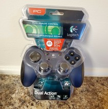 NEW Logitech Dual Action Gamepad USB Controller 963292-0403 for PC - $28.45