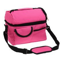 (rose red)8L Square Thermal Bag Women Men Lunch Bag Cooler Beam Port Lun... - $34.00
