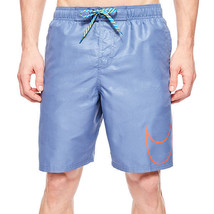 Nike Camotion Emboss Volley Shorts Size M New Msrp $58.00 Ocean Fog - $29.99